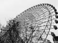 The iconic HEP Five Ferris Wheel in Osaka