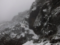 Snowstorm on the Druk trek - not quite the rhodedendrums-filled spring fields we were expecting