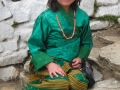 This Bhutanese girl said she wanted to grow up to wear beautiful gowns like the ones she saw on TV
