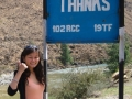 Funny sign in Bhutan #2: Thanks