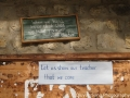 Signs like that are all over local schools in Bhutan. This was one we visited in Punakha