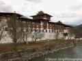 The magnificent Punakha Dzong by the river
