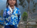 This little Bhutanese girl's got attitude.