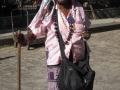 Cuban lady smoking a cigar