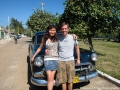 Cruised from Havana to Varadero in this vintage Chevrolet!