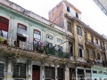 The colorful buildings of Old Havana in Cuba