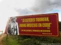 Socialist billboard in Cuba