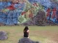 Rock mural in Vinales, Cuba