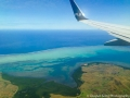 Coming in to land at Fiji's Nadi International Airport