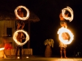 Traditional firedance in Fiji