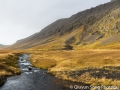 The typical harsh and dramatic landscape of western Iceland