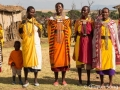Singing Maasai women