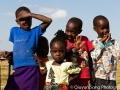 Adorable Maasai kids
