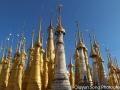 Golden spires, Inle