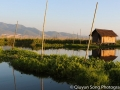 A perfectly still Inle Lake