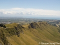 Te Mata peak in the summer