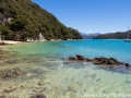 The picture perfect blue-sky-aqua-waters Abel Tasman