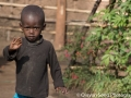 The signature kid wave - Rwandan kids all wave whenever we drive by