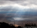 Afternoon light on the Ngorongoro Crater