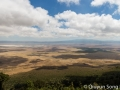 The Ngorongoro Crater on a glorious morning